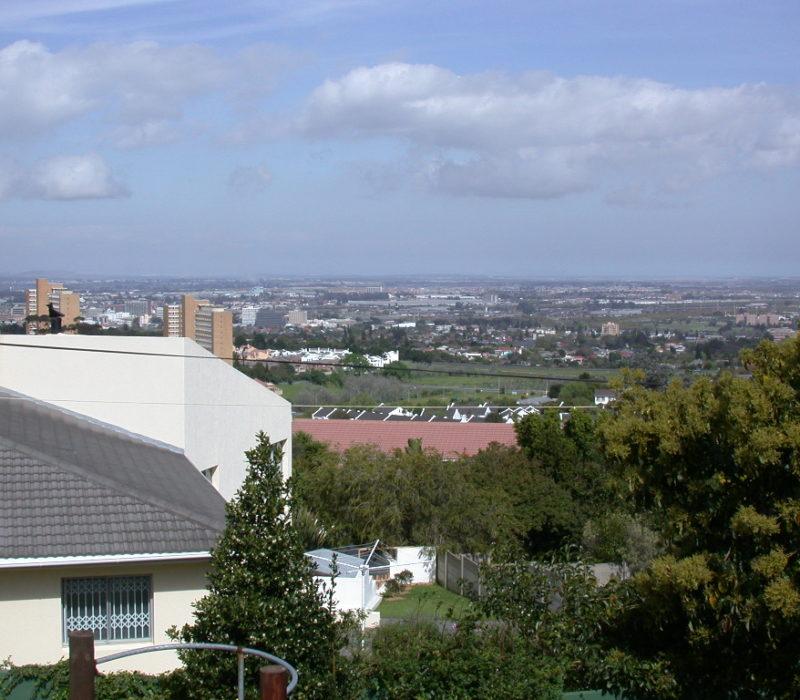 Blick über Kap Stadt