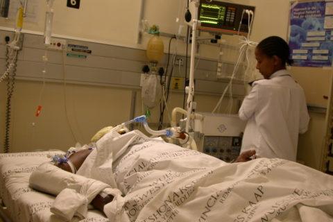 Patient auf der IPS