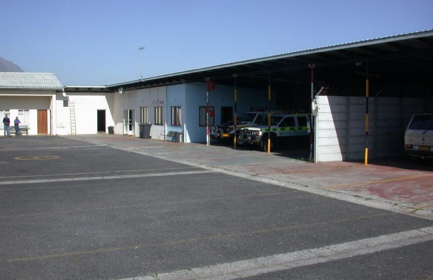 Blick in der Basis des Rettungsdienstes