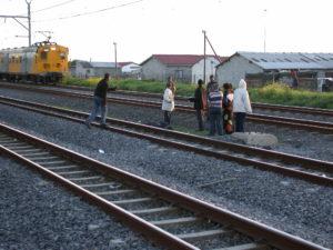 Die Bahnlinie wird nicht unterbrochen