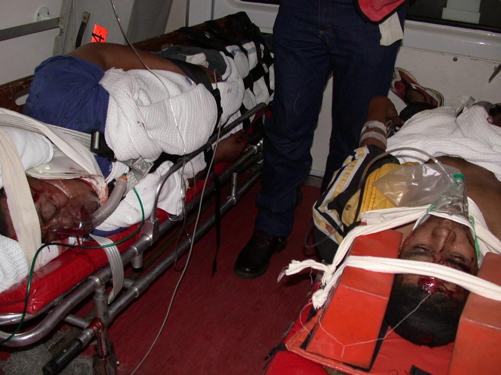 Patienten immobilisiert