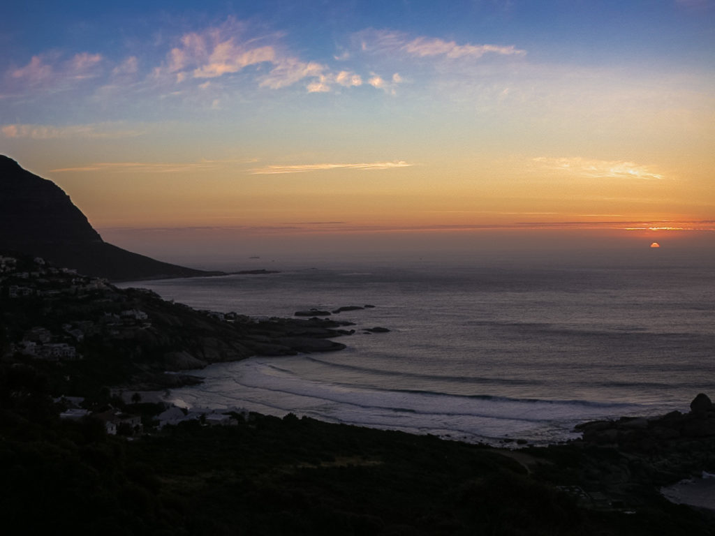 Sunset in Capetown