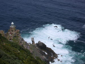 Sea at Cape of good hope